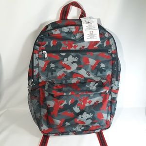 NEW Disney World Land Parks Mickey Mouse backpack